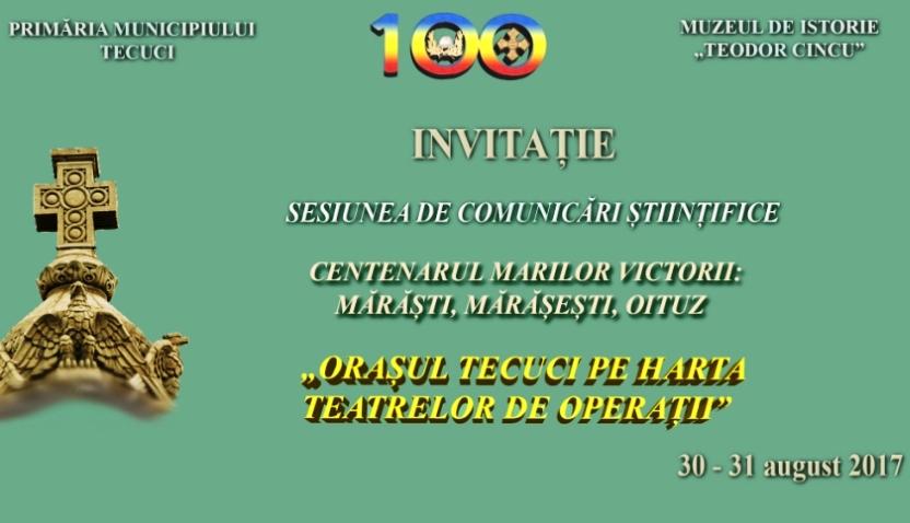Sesiune Comunicari Stiintifice Centenar