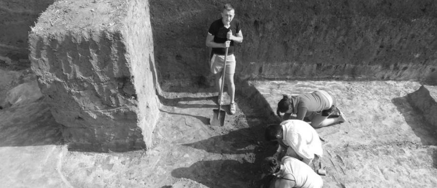 Cercetarea situl arheologic Negrileşti