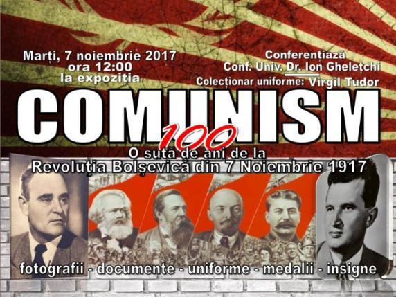 Expozitia Comunism 100 comemorează o suta ani de la revoluția bolșevică