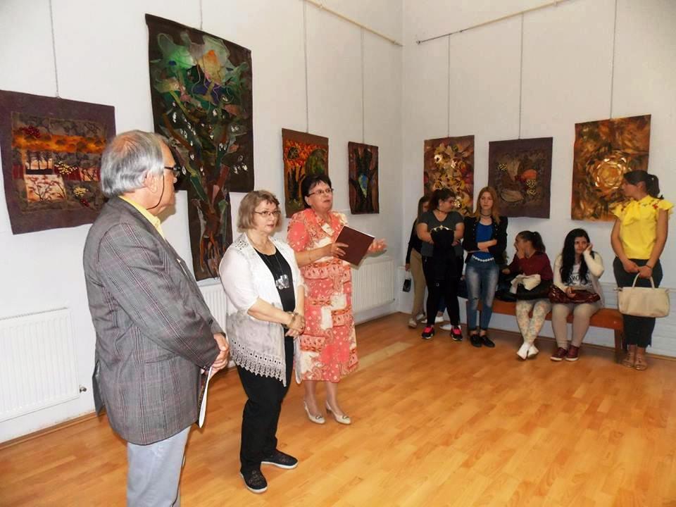 Expozitia arta textila VEGETALIA