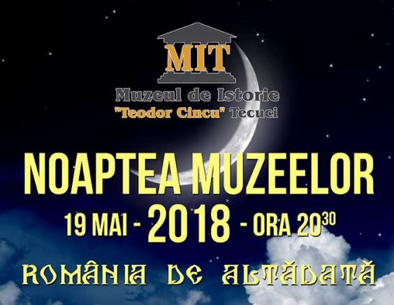 NOAPTEA MUZEELOR 2018 România de altădătă