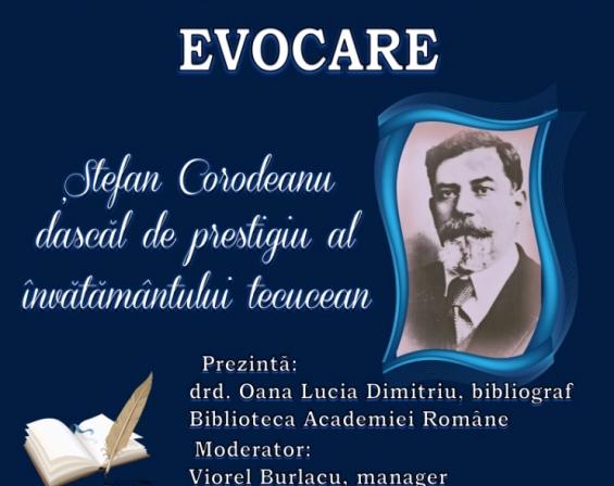 Evocare Stefan Corodeanu dascal