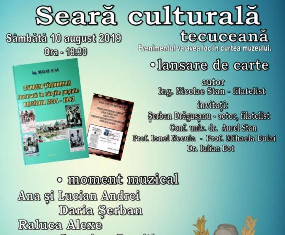 Afis eveniment Muzeul Tecuci 2019 2