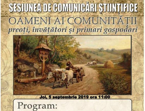Sesiunea Oameni ai comunitatii mic