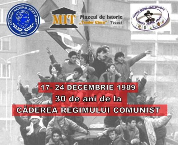 30 de ani de la căderea comunismului